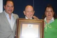 """El Matador Alfredo Gómez """"El Brillante"""" y su esposa Patricia Swift de Gómez"""