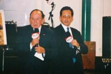 """En la entrega del primer Trofeo """"Fiesta Brava"""": Enrique Hernández Flores y Enrique Hernández Vázquez"""