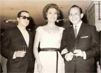 """Con dos grandes de la música mexicana, el Compositor Tomás Méndez y la Cantante Lola Beltrán """"Lola la Grande"""""""