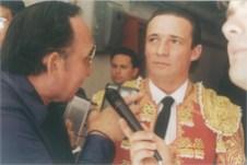 """Entrevistando en """"La México"""", al Maestro Alicantino José Mari Manzanares"""