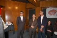 Arturo Macías, Pepe Soto y el Maestro Luis Fernando Sánchez