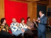 Elías Ruvalcaba, Carlos Lorenzo, Gabriela García Padilla, María Elena de Cobo, Maestro Raymundo Cobo y Enrique Hernández Flores