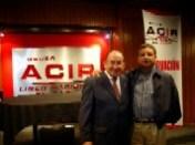 Enrique Hernández Flores y Alejandro Álvarez Manilla (Director de Información de Grupo ACIR)