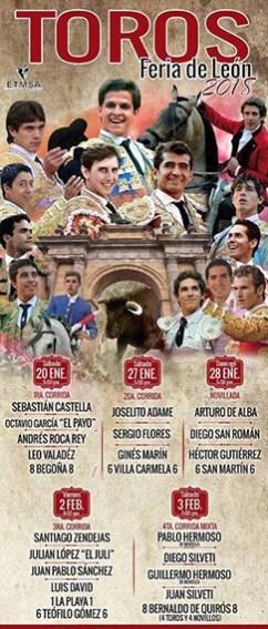 """Feria Taurina """"León 2018"""""""