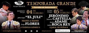 """Corridas de Aniversario en la """"Plaza México"""""""