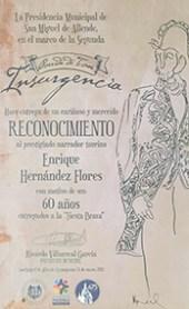 Homenaje y Reconocimiento a Enrique Hernández Flores (1928-2016) Q.E.P.D.
