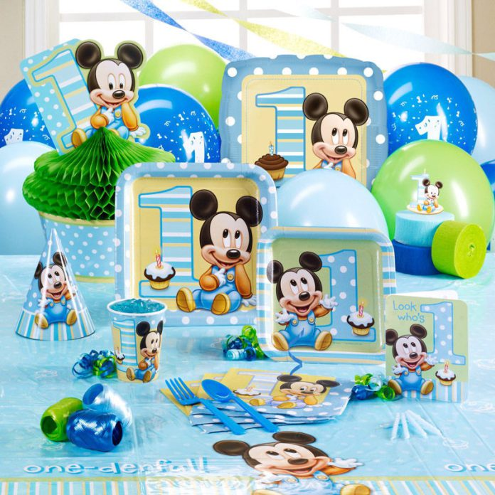 Fiesta baby disney con ideas realmente originales para decorar for Mesa de cumpleanos de mickey