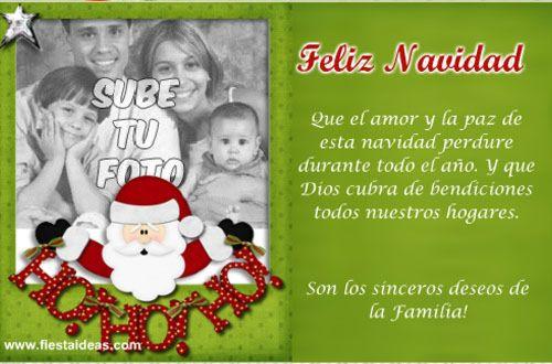 tarjeta feliz navidad 3