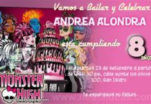 invitacion monster high 2