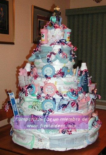 Decoracion de Torta Baby shower