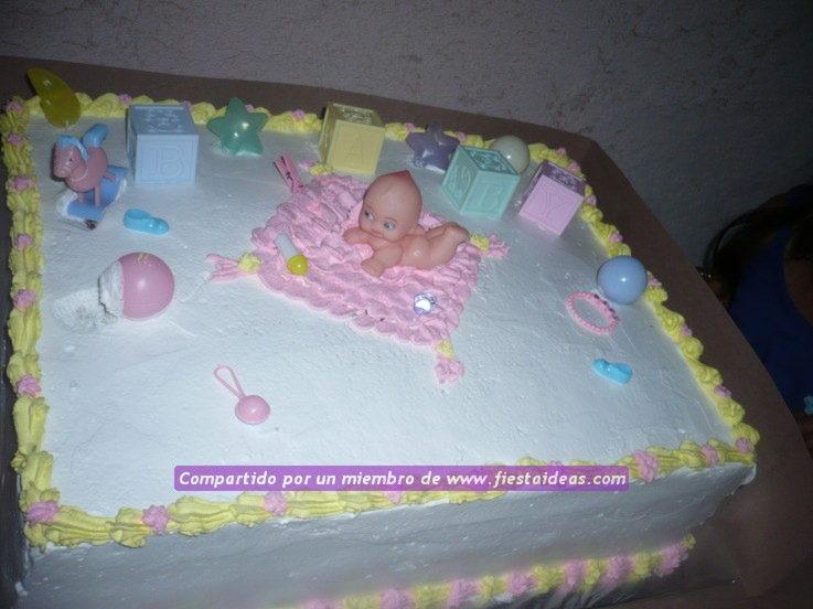 Torta Bayshower Para Niña