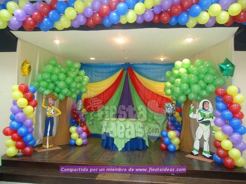 Decoración De Fiesta De Toy Story Con 40 Ideas Originales
