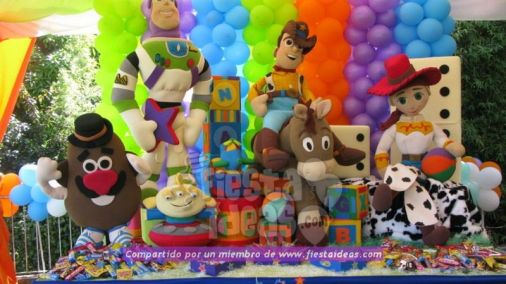 Decoración de fiesta de Toy Story