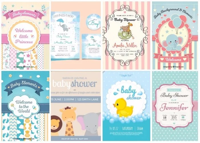 Baby Shower Invitations 50 Count