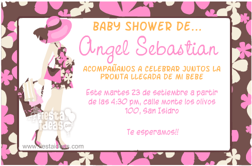 1d9505fb0dfc3 ▷ 20 Invitaciones para Baby Shower  edita e Imprime GRATIS  2018