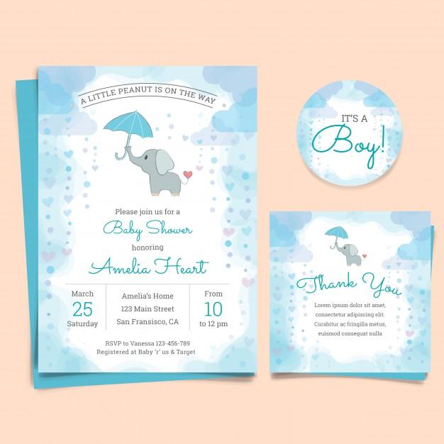 Tarjetas Para Baby Shower Para Niña Free Printable