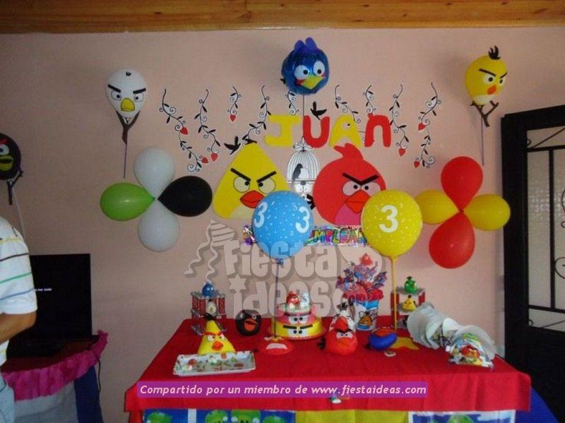 Decoraci n de fiesta de angry birds - Juegos gratis de decoracion ...