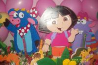 Decoración de fiesta de Dora la exploradora