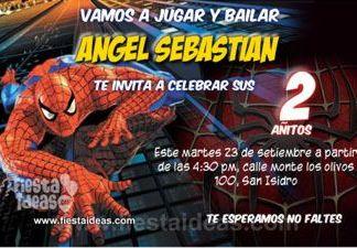 invitacion_cumpleaños_sorprendente_hombre_araña_2