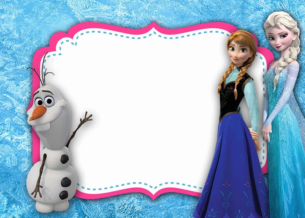 Frozen Invitations Ideas was best invitations layout