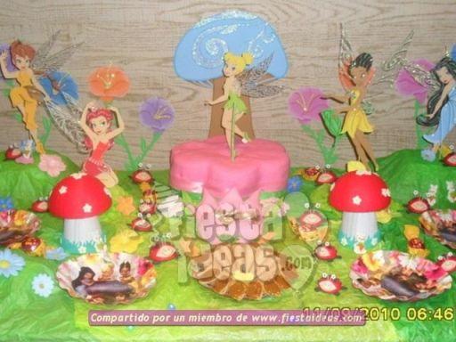 20 ideas para decoracion de tortas de Campanita - tinkerbell-018_min