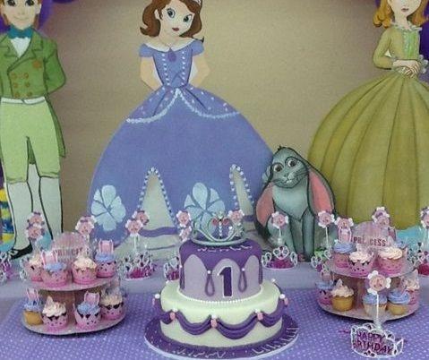 Ideas de decoracion para fiesta de princesa sofia nuevas - Decoracion cumpleanos princesas ...