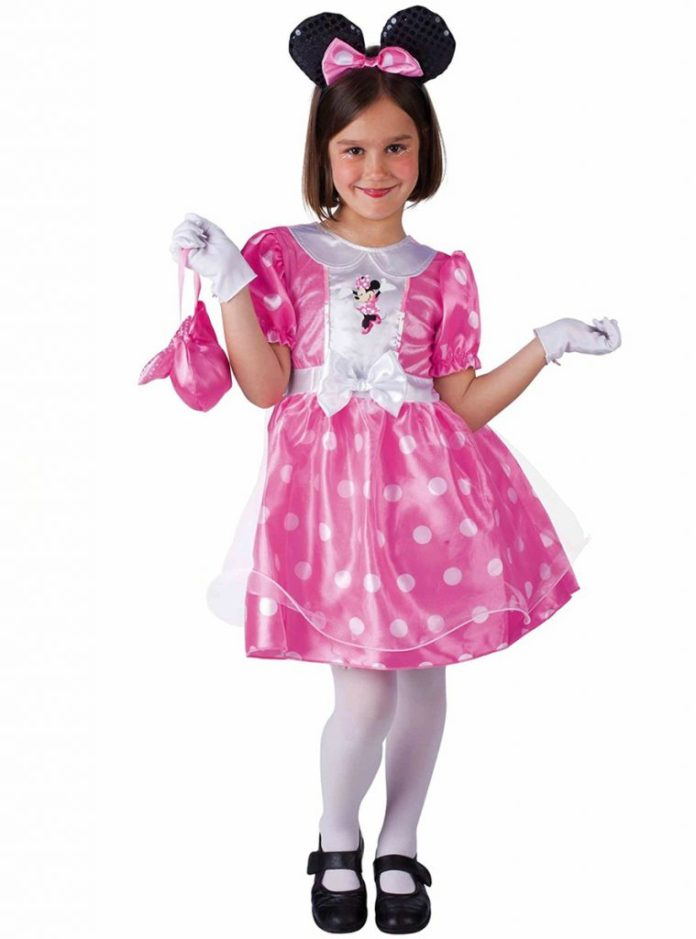 Disfraces deMinnie Mouse rosa