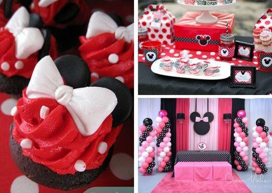 fiesta de minnie mouse con ideas de decoracin originales with cumpleaos para nia de aos