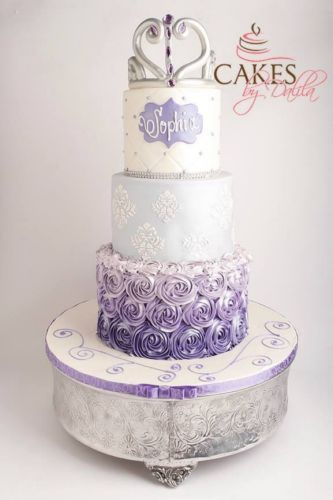 Sofia The First Rosette Cake