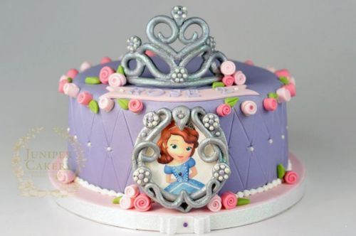 Tortas de princesa Sofia con foto