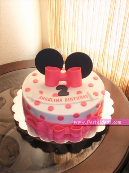 15 Decoraciones de minnie mouse torta