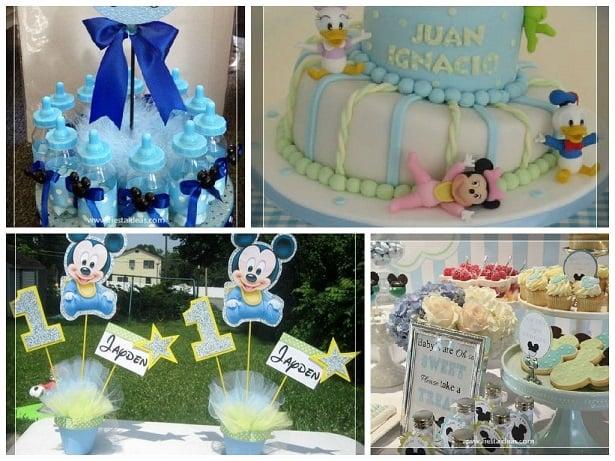 Decoraciones de baby shower con mickey mouse for Fiesta baby shower decoracion