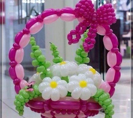 de flores con globos super creativas