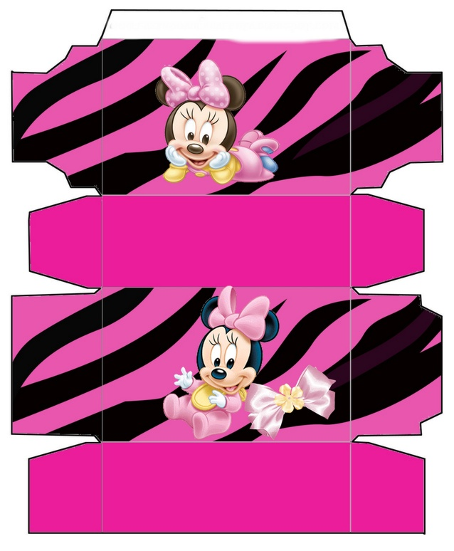 Baby Minnie mouse Kit imprimible