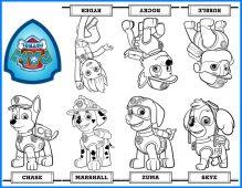 Imagenes De Paw Patrol Patrulla Canina Descarga Imprime Y Colorea
