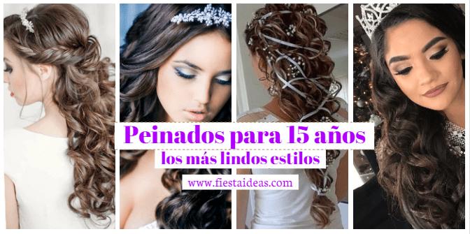 Peinados Para 15 Anos Los Mas Lindos Y Originales Con Fotos Y Videos