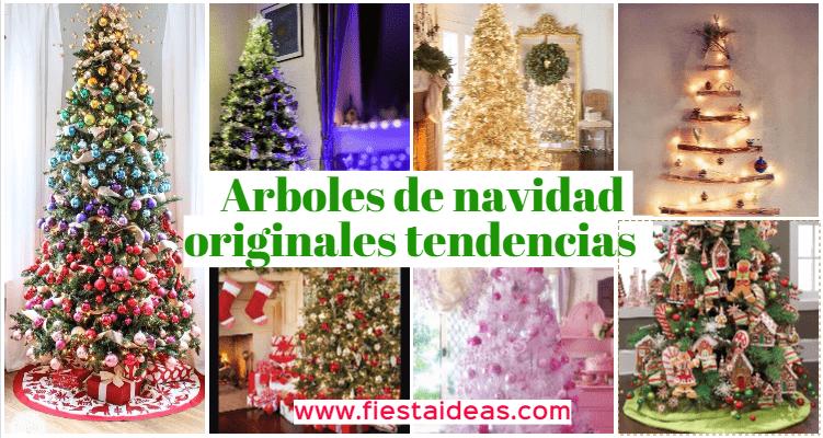 Como Decorar Mi Arbol De Navidad 2018.Arbol De Navidad Decorado Originales Tendencias 2018