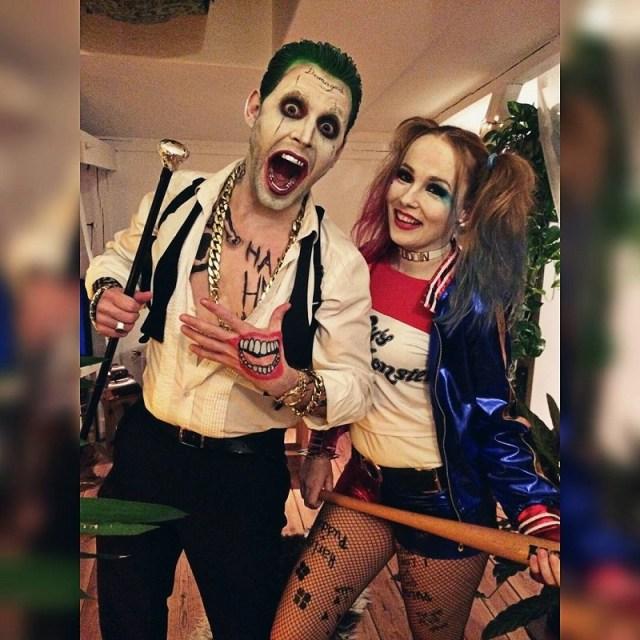 disfraces de parejas para halloween harley quinn y el guason