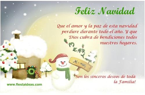 Crea tarjetas navideñas gratis con mensajes lindos, fáciles gratis ...