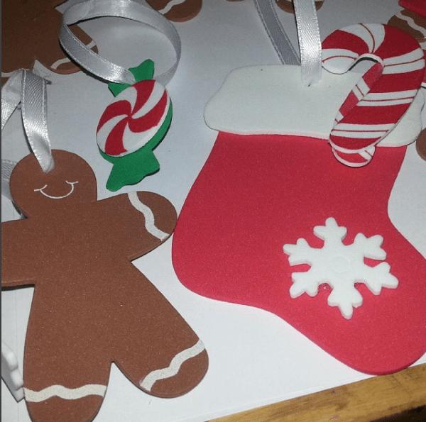 manualidades para navidad en fomix