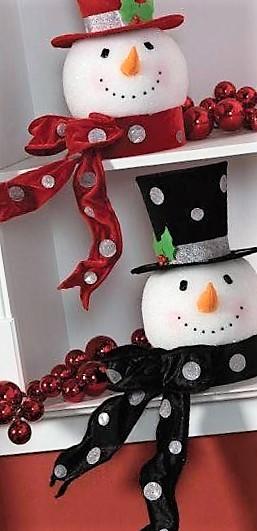 originales muñecos de nieve