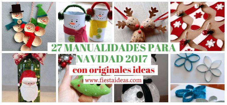 27 MANUALIDADES PARA NAVIDAD 2018 con originales ideas