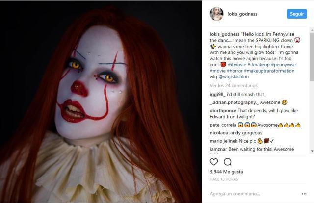 maquillaje payaso IT para mujer y hombres para Halloween