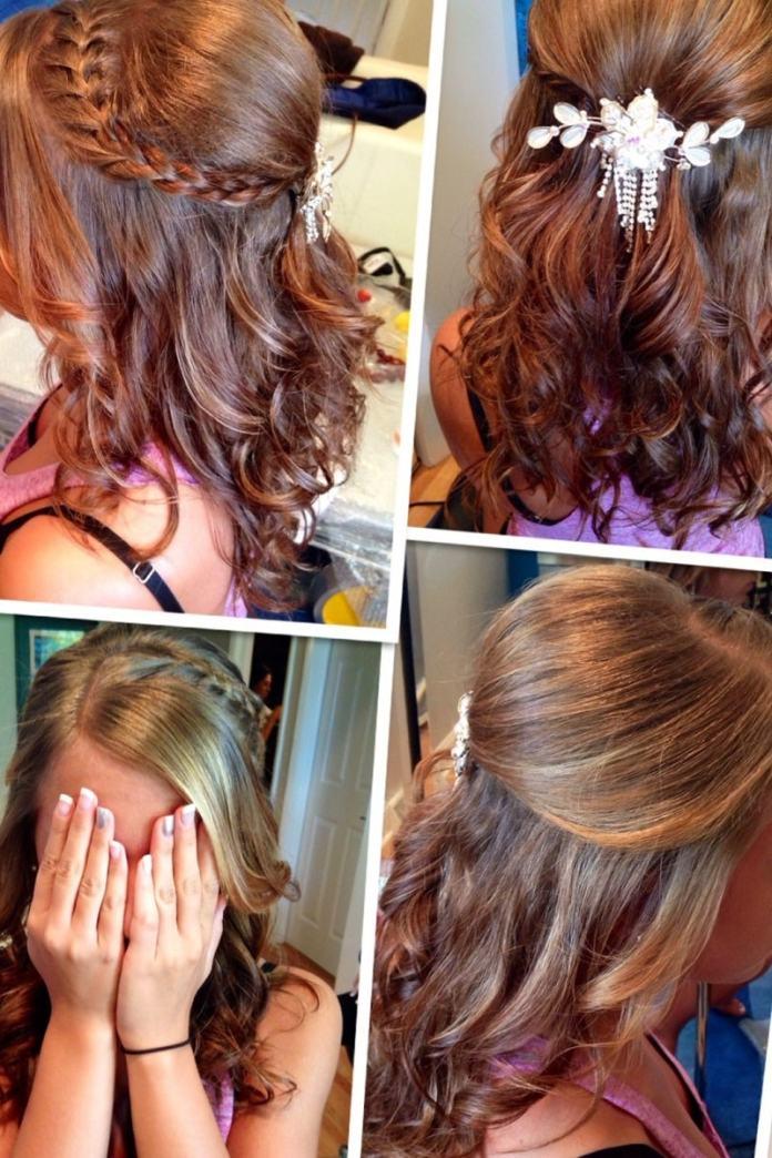 peinado para 15 suelto paso a paso