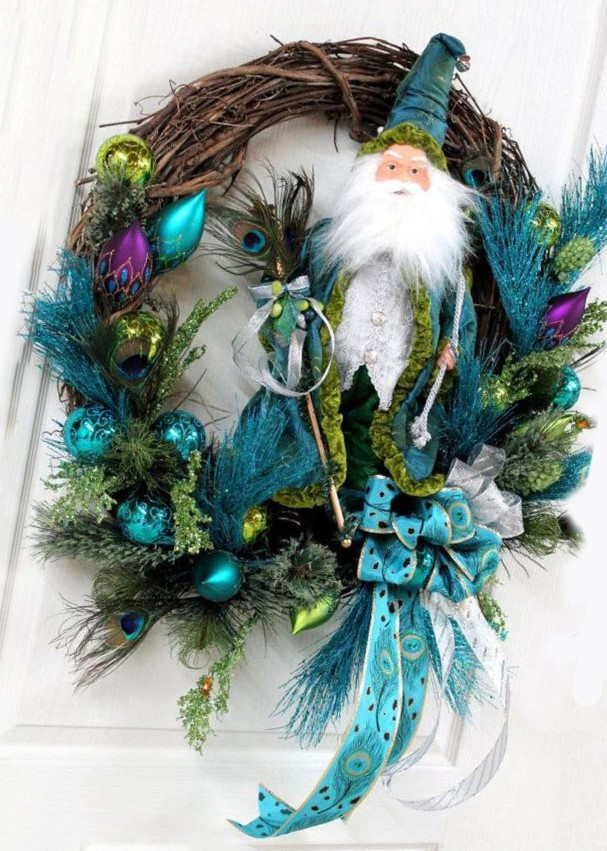 coronas navideñas elegantes