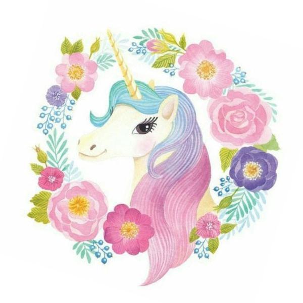 Im genes de unicornios para descargar listas para imprimir for Diseno de mesa de unicornio