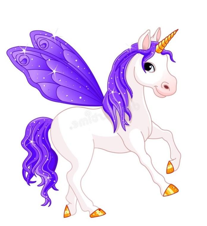 imagenes de unicornios png fucsia para descargar