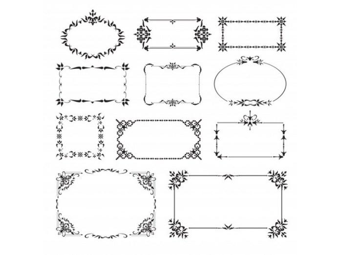 diseños de Grecas para invitaciones de graduación