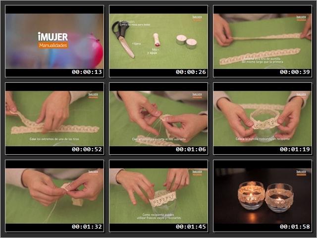 Como hacer centros de mesa para boda, paso a paso video
