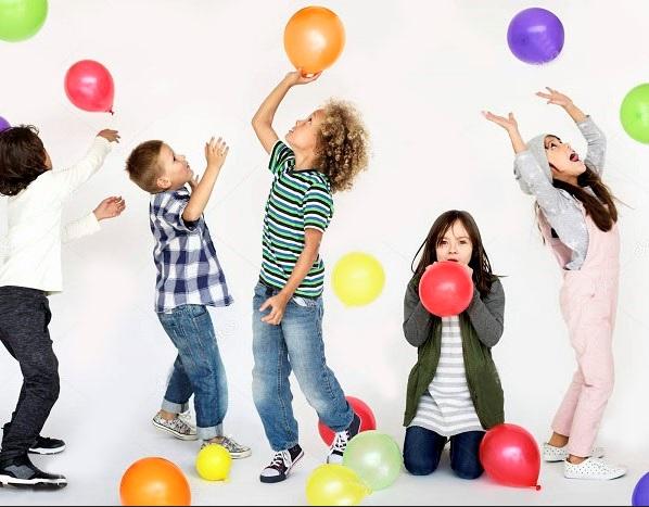 juego de globos saltarines para fiestas infantiles